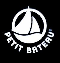 logo petit bateau blanc